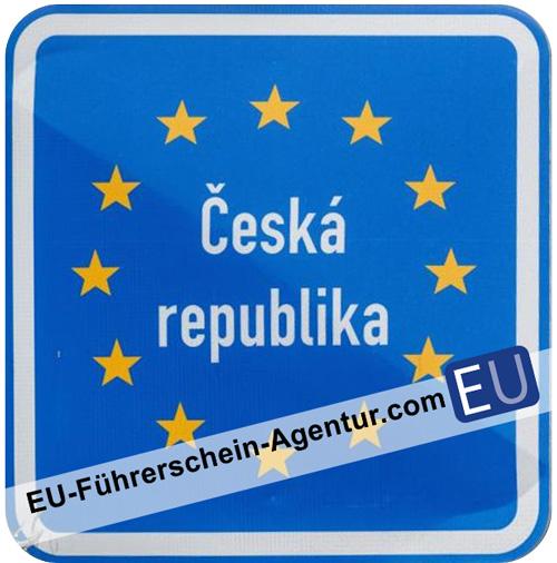 Wegweiser zum Führerschein in Tschechien